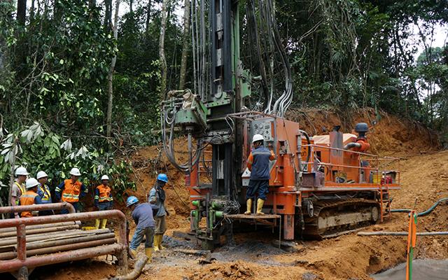 Mintec 12.8 Drilling rig
