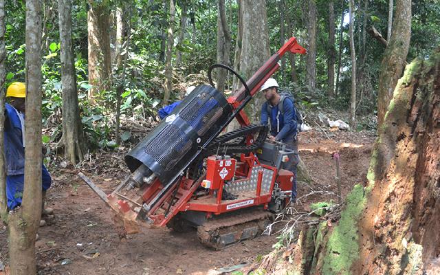 Angle Drilling Dando Terrier Congo