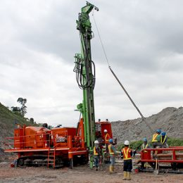 Mintec 12.8 Mineral Exploration Rig