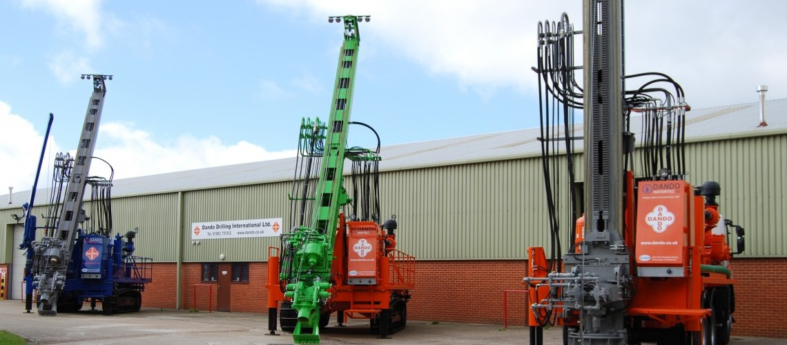About Dando | UK Drilling Rig Manufacturer | Dando Drilling