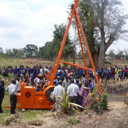 Cable Percussion Water Well