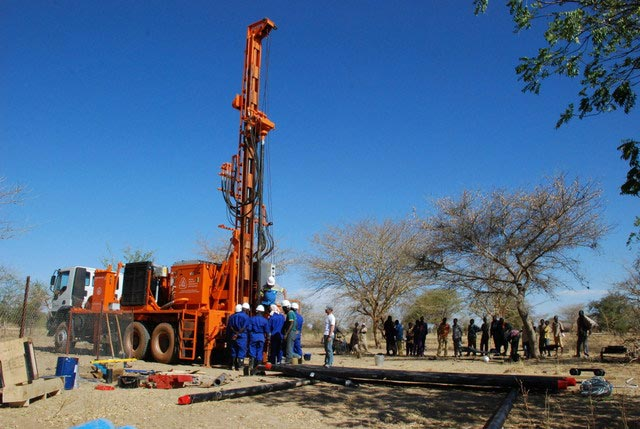 Watertec 12.8 being used in Burkina Faso