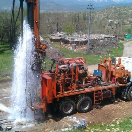 Watertec 24, Water Well being used in Iran