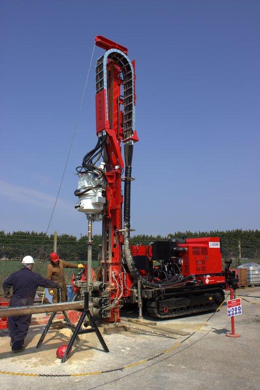 Dando Sdc375 Sonic Drilling Rig Dando Drilling