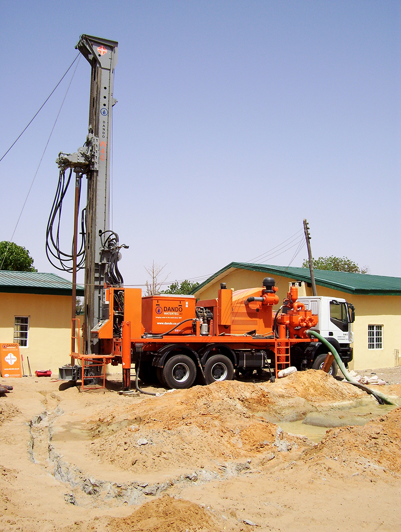 Cribley Well Drilling Has a New Rig - Cribley Drilling |Well Drilling