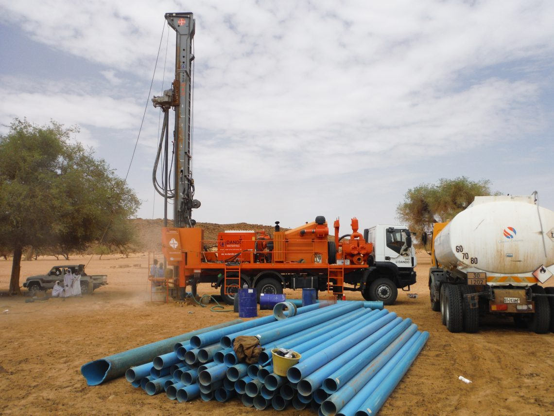 Watertec 40 | Water Well Drilling Rig | Dando Drilling International