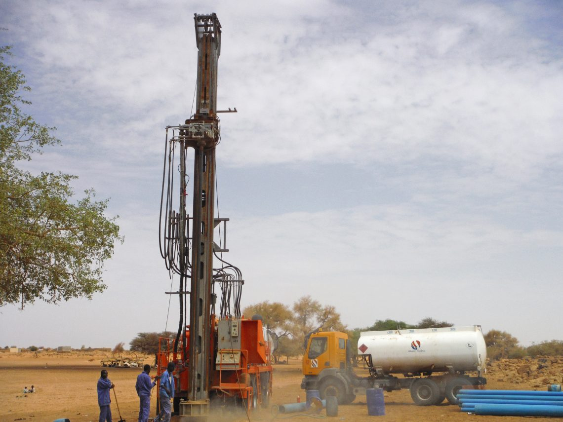 Watertec 40 Water Well Drilling Rig Dando Drilling