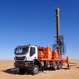 watertec 40 water well drilling rig