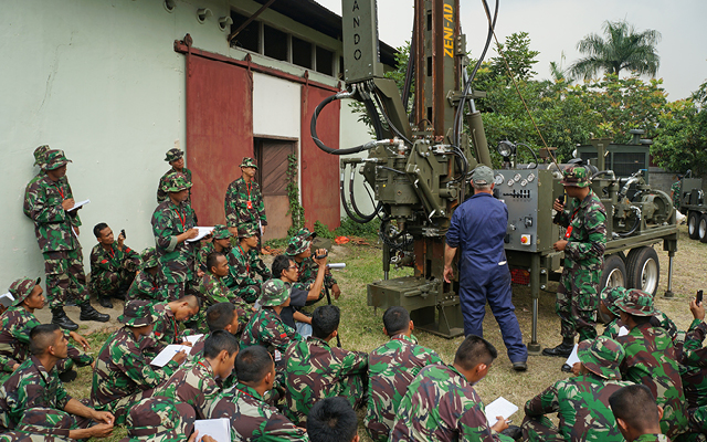 Customer Drilling Rig Training