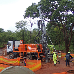 Water Well Drilling Rigs | Truck, Track, Trailer | Dando