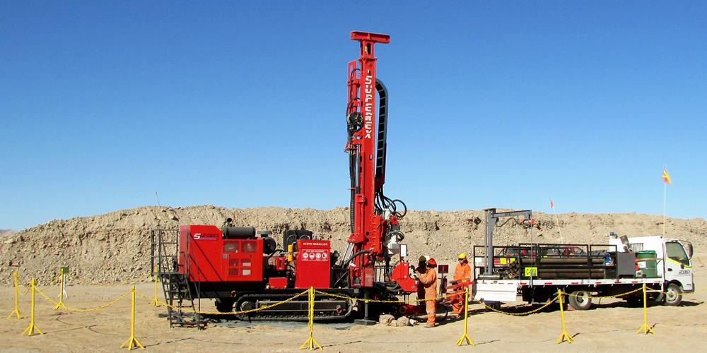 Dando SDC375 | Sonic Drilling Rig | Dando Drilling International