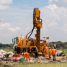 watertec 9000 water well drilling rig