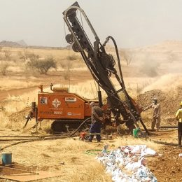 Gold Prospecting Drilling Rig