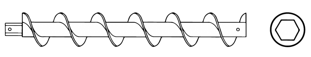 Auger- Hexagonal