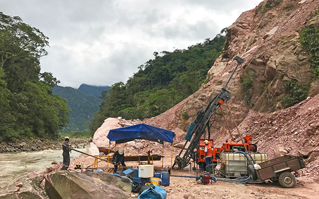Geotechnical Drilling Rig Bolivia