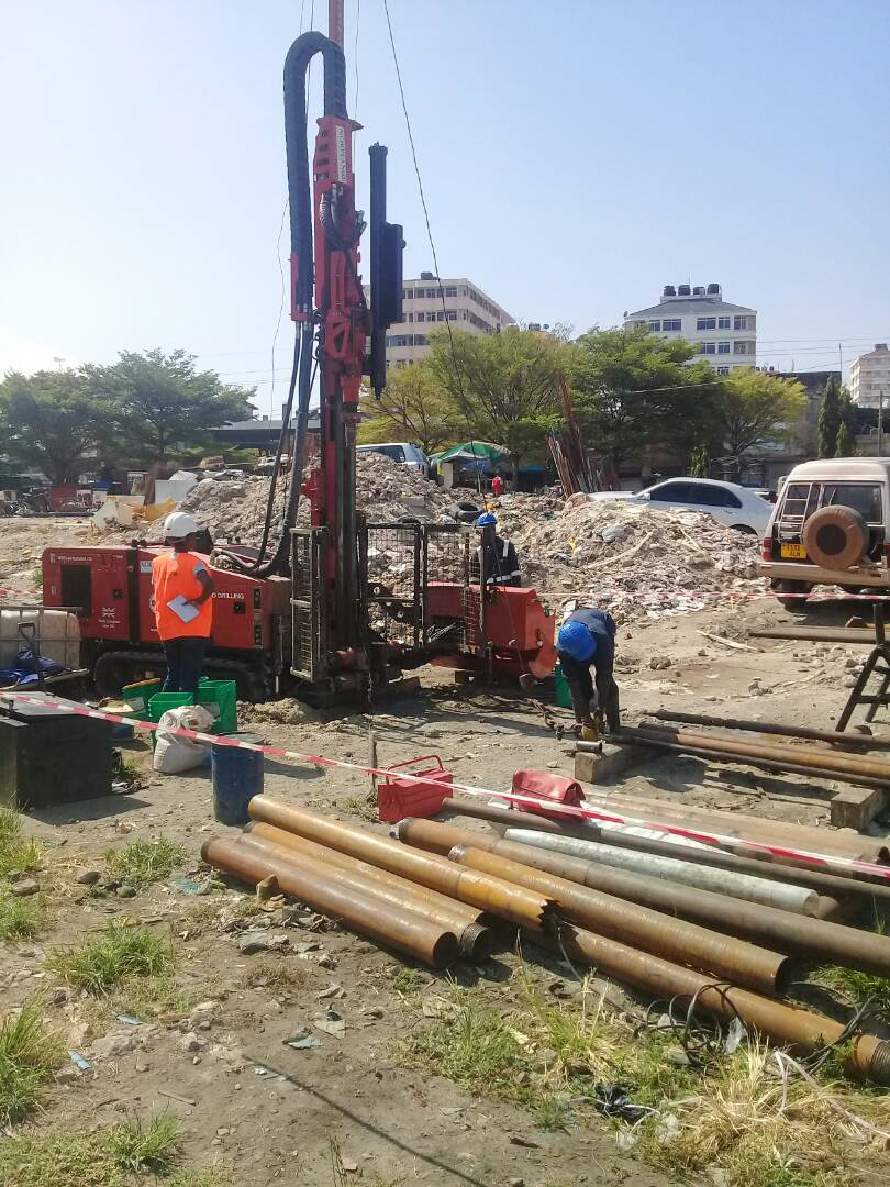 Jackal 4000 and Terrier at Work on Major Railway Project in Tanzania