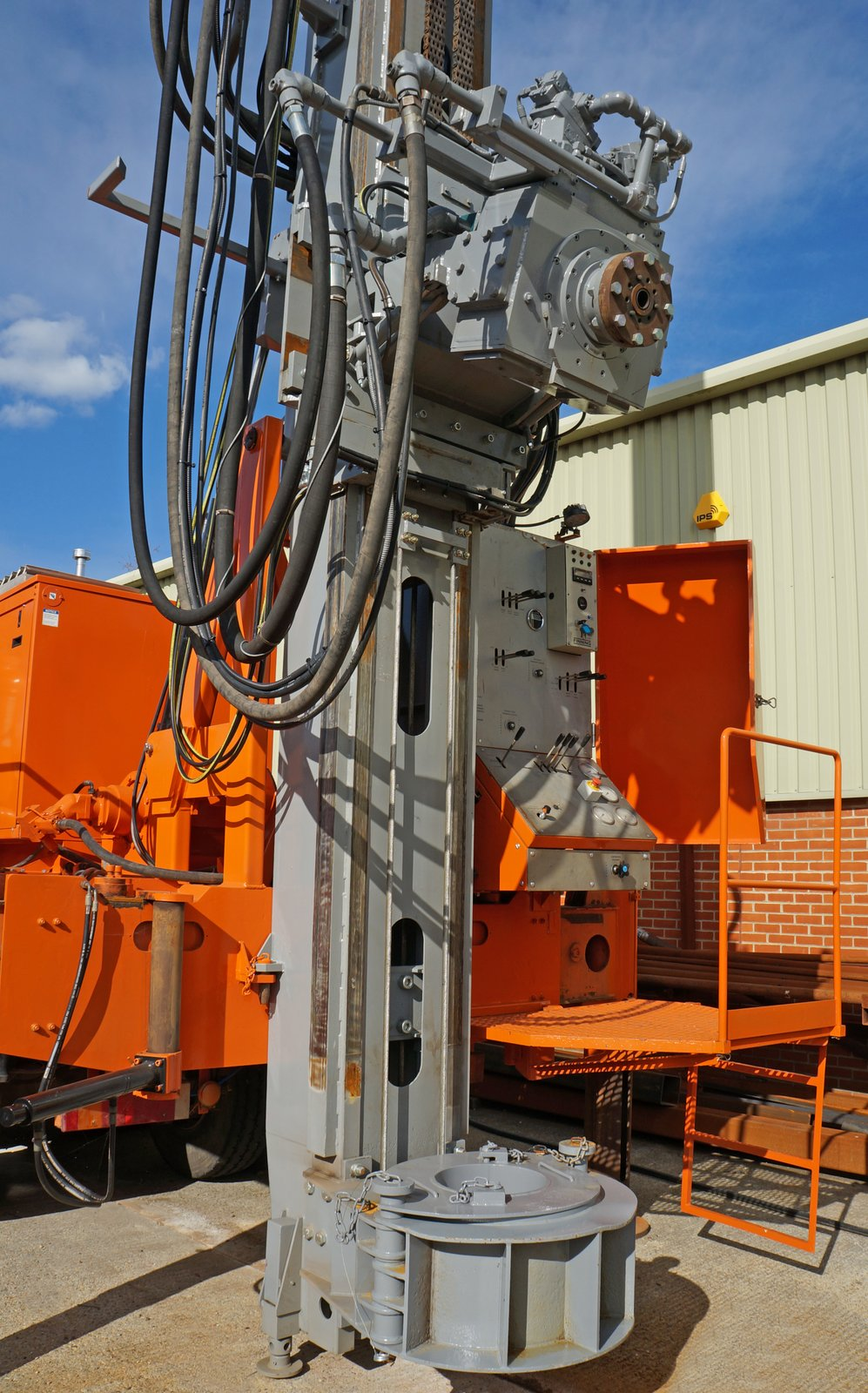 Used Drilling Rig for Sale   Watertec 40   Dando Drilling
