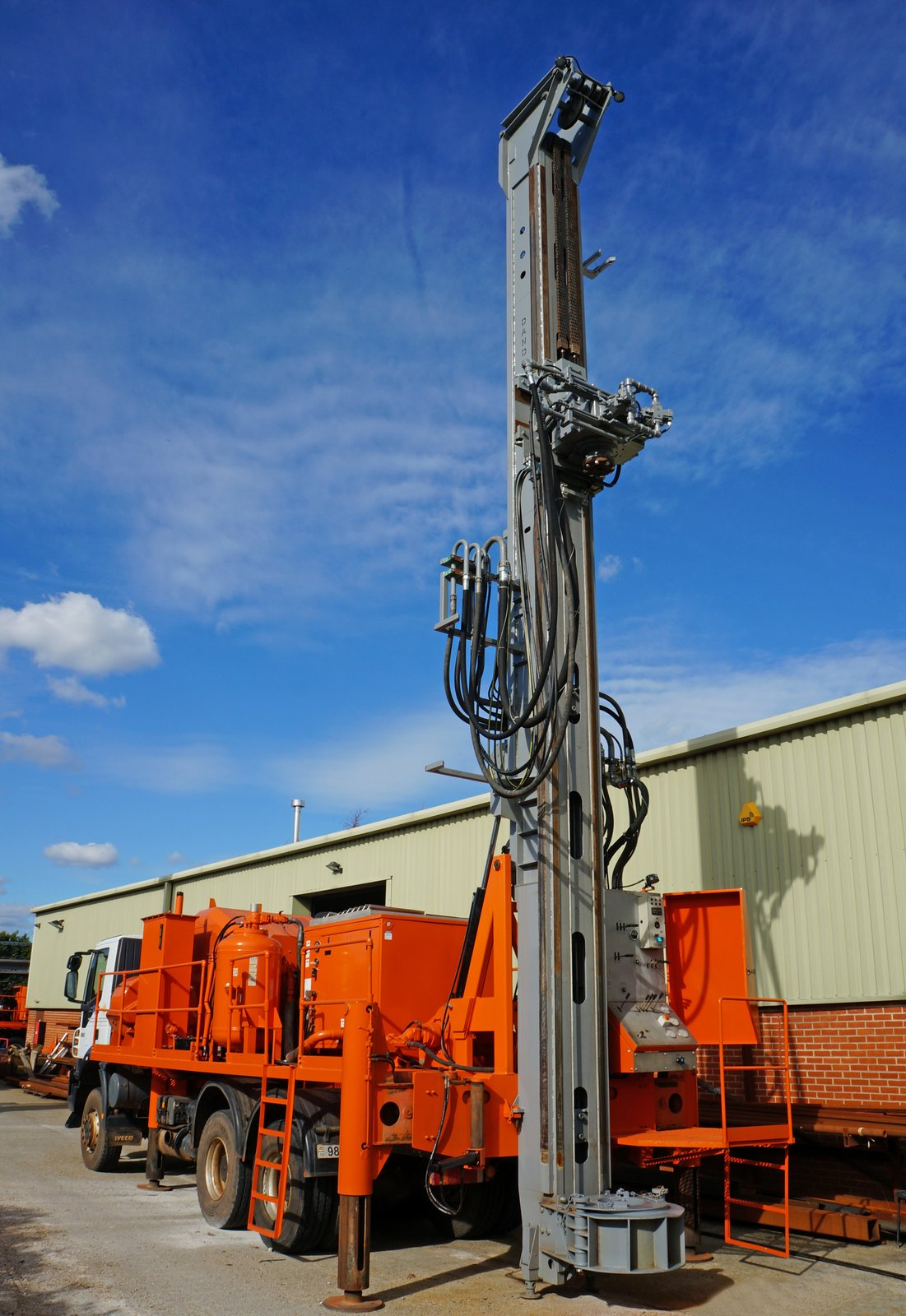 Used Drilling Rig for Sale | Watertec 40 | Dando Drilling