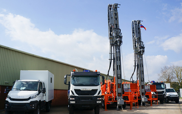 Watertec 12.8 Drilling Rigs
