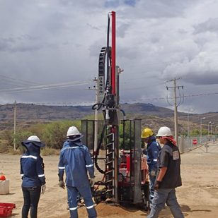 Terrier Drilling Rig Bolivia