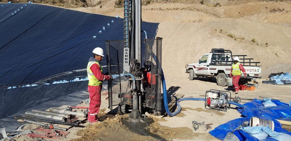 Dando Drilling Rig Bolivia