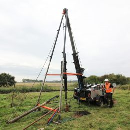 Cable Percussion Drilling Rig