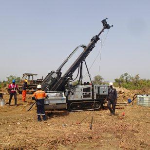 Jackal 4000 Drilling Rig