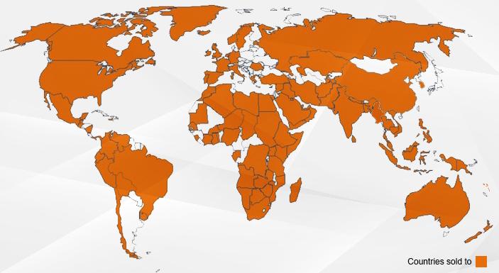 Dando Drilling World Customers